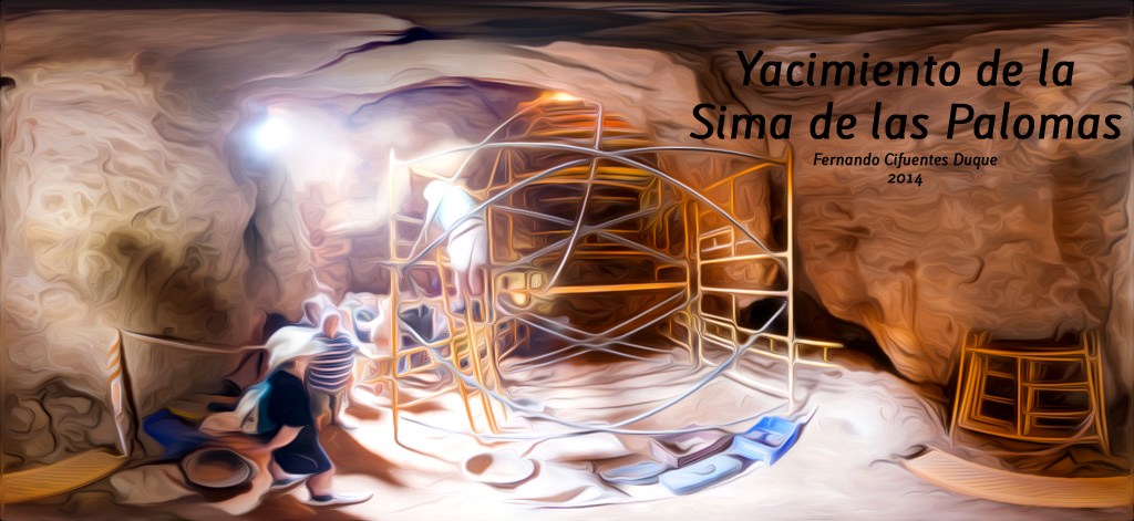 Panoramica del Yacimiento de la Sima de las Palomas