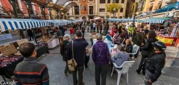 mercado artesanal de las 4 plazas de mula